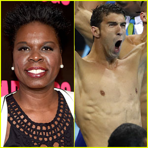 Leslie Jones Continued Olympics Twitter Commentary with Michael Phelps & US Swimmers Win!
