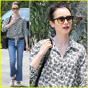 Lily Collins is Gearing Up for 'Rules Don't Apply' Release
