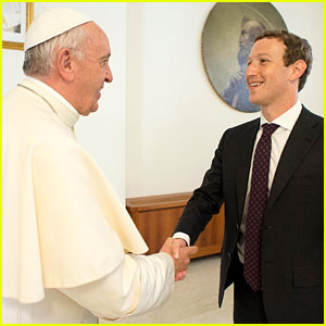 Mark Zuckerberg Meets Pope Francis at the Vatican