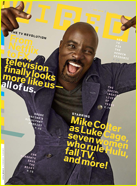 Mike Colter Tells 'Wired' The Importanance Of Marvel's 'Luke Cage'!