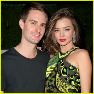 Miranda Kerr Shares Sweet Photo With Fiance Evan Spiegel