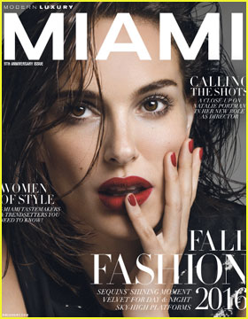 Natalie Portman Talks Directing for 'Modern Luxury' Mag Cover