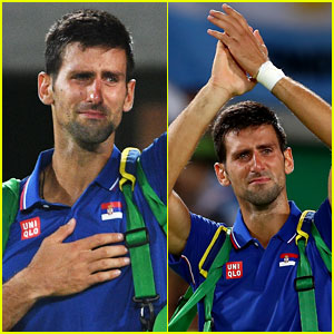 Novak Djokovic Eliminated From Men's Singles Tennis in Rio Olympics, Becomes Emotional on the Court