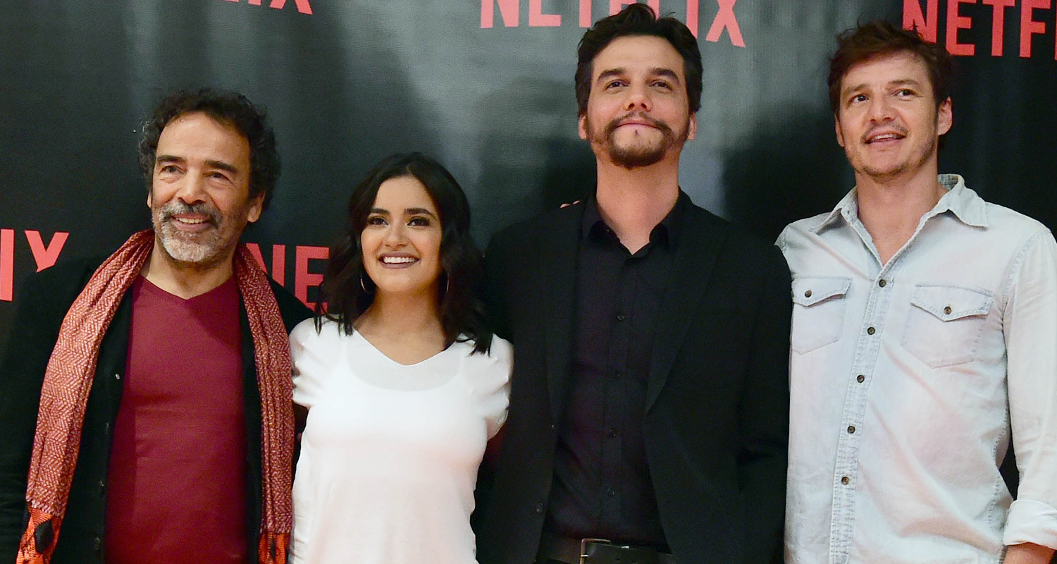 Pedro Pascal & 'Narcos' Cast Hit Mexico City Ahead Of Season