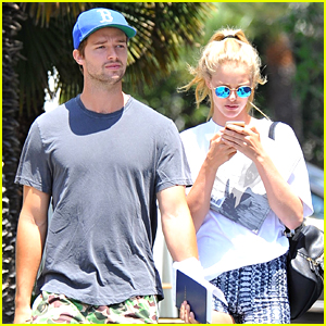 Patrick Schwarzenegger & Abby Champion Grab Lunch After Boxing Class in LA