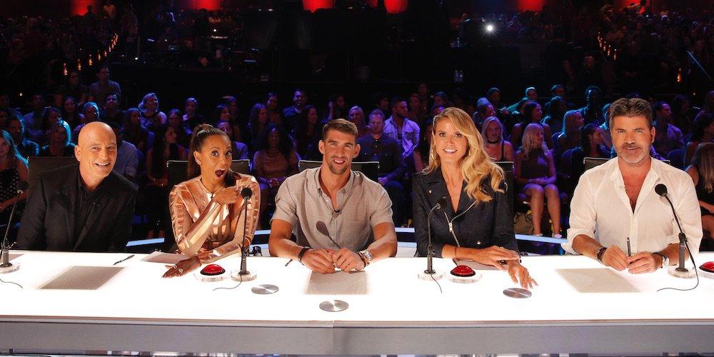 Michael Phelps Co-Hosts 'America's Got Talent' (Video)