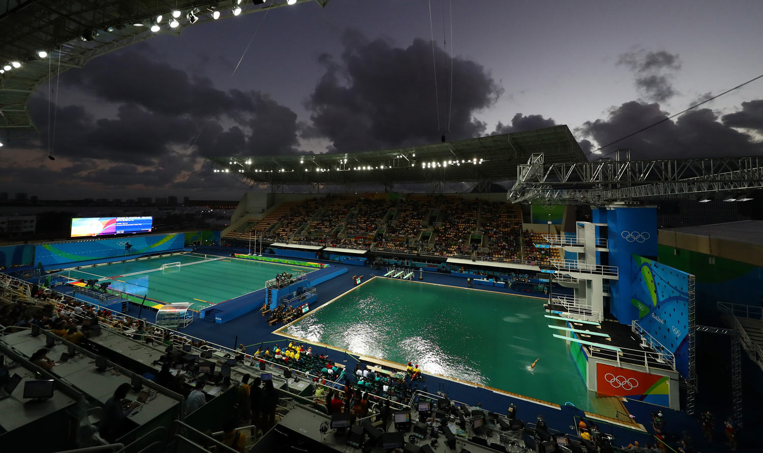 Officials Will Drain Green Water In Rio Olympics Diving Pool 2016 Rio Summer Olympics Just Jared