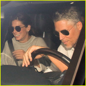 Sandra Bullock Spotted in Rare Outing with Bryan Randall!