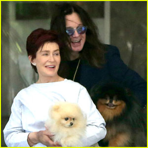Ozzy Sharon Osbourne Smile While Working On Their Marriage