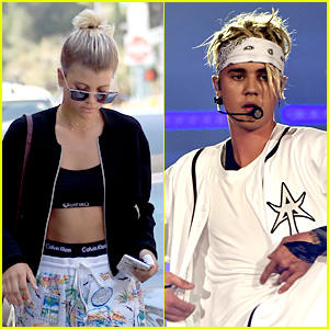 Sofia Richie Hangs With Justin Bieber On The Beach Over The Weekend