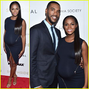 Tika Sumpter Shows Off Baby Bump At 'Southside With You' Premiere - Watch Trailer!