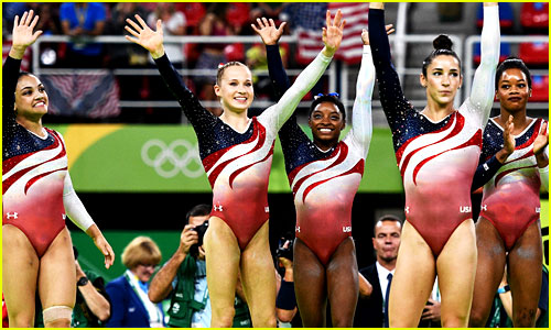 USA Women's Gymnastics Team Wins Gold Medal at Rio Olympics 2016!