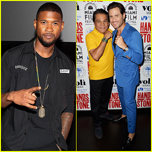 Usher Debuts 'Hands Of Stone' Title Song 'Champions' - Watch Lyric Video!