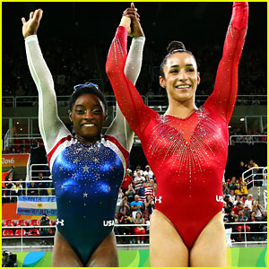 Watch Simone Biles & Aly Raisman's Amazing Floor Routines at Rio Olympics 2016 (Video)