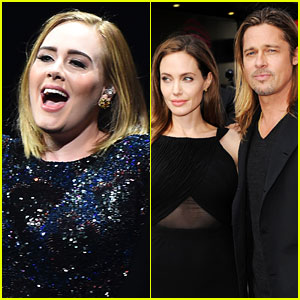 Adele Actually Doesn't Care About Brangelina's Split (Video)