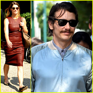 James Franco & Ashley Greene Continue Promo at Venice Film Festival