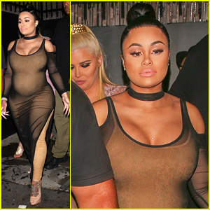 Blac Chyna Has Night Out After Revealing Sex of Her & Rob Kardashian's Baby!
