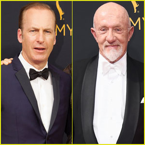 Bob Odenkirk & Jonathan Banks Suit Up for Emmys 2016