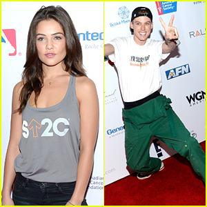 Harry Hudson & Danielle Campbell Step Out For SU2C Fundraising Event