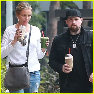 Cameron Diaz & Benji Madden Spend the Afternoon Together
