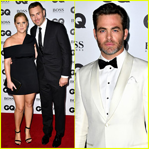 Chris Pine & Amy Schumer Honored at GQ's Men of the Year Awards in London!