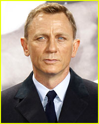 Daniel Craig Has Platinum Blonde Hair Now!