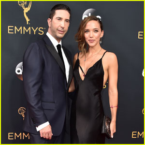David Schwimmer Brings Wife Zoe Buckman to Emmys 2016