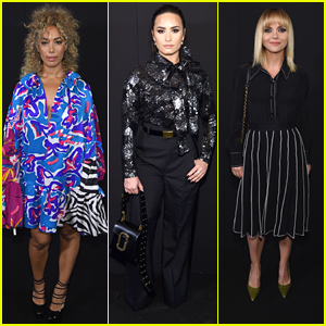 Demi Lovato, Leona Lewis & More Hit Marc Jacobs Show During NYFW