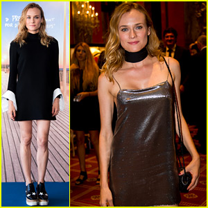 Diane Kruger Indulges in Pasta After Finishing Deauville Duties!