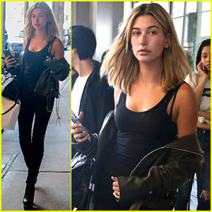Hailey Baldwin Preps for New York Fashion Week!
