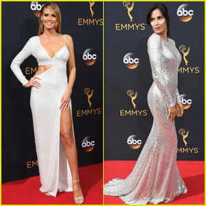 Heidi Klum & Padma Lakshmi Go Glam for Emmy Awards 2016