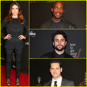 'How To Get Away With Murder' Cast Celebrate Season Three Premiere - Watch Sneak Peek!
