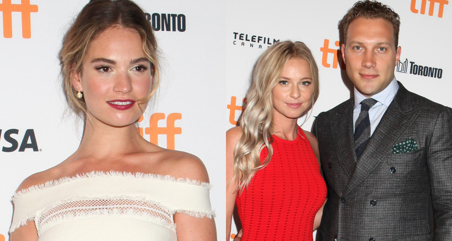 Lily James & Jai Courtney Are 'The Exception' At TIFF 2016 ...