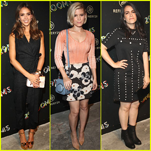 Jessica Alba & Kate Mara Check Out Refinery29's 29 Rooms!
