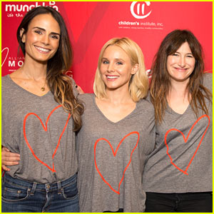 Jordana Brewster, Kristen Bell, & Kathryn Hahn Attend Alliance of Moms Event