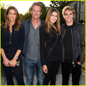 ce2d9249827 Kaia Gerber Gets Family Support at  Sister Cities  Premiere!
