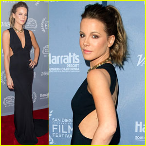 Kate Beckinsale Honored with Cinema Vanguard Award at San Diego Film Festival 2016!