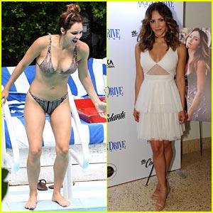 Katharine McPhee Bares Her Bikini Bod While Poolside in Miami