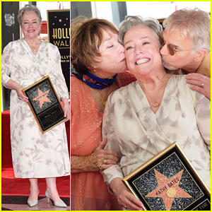 Kathy Bates Gets Honored By Shirley MacLaine & Billy Bob Thornton At Hollywood Walk of Fame Ceremony!