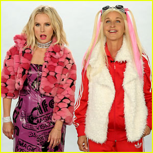 Kristen Bell & Ellen DeGeneres Reveal Spice Girls Audition Tape - Watch Now!