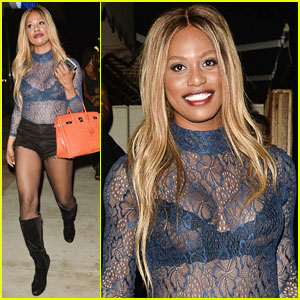Laverne Cox Praises Gabrielle Union for 'Insightful' Op-Ed