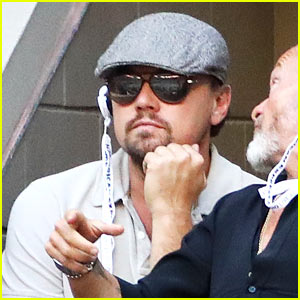 Leonardo DiCaprio Watches Intently as Stan Wawrinka Defeats Novak Djokovic