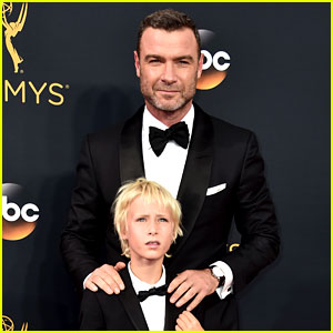 Liev Schreiber Brings Son Sasha as His Date to Emmys 2016!
