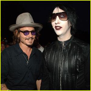 Marilyn Manson Says Pal Johnny Depp Was 'Crucifed Unjustly'