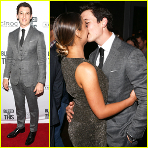 Miles Teller Gets Support From Keleigh Sperry At 'Bleed For This' TIFF Party!