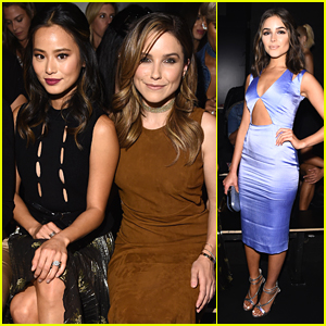 Sophia Bush & Jamie Chung Join Olivia Culpo at Cushnie et Ochs Fashion Show at NYFW