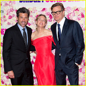 Renee Zellweger Premieres 'Bridget Jones's Baby' in Paris with Patrick Dempsey & Colin Firth