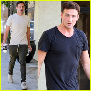 Ryan Lochte Gets Lots of Love From the 'DWTS' Cast & Crew