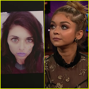 Sarah Hyland Thinks The New Snapchat Filter Is Based On Her