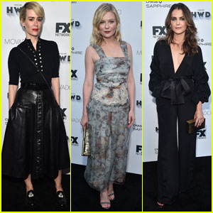 Sarah Paulson & Kirsten Dunst Hit Up FX Emmy Bash 2016